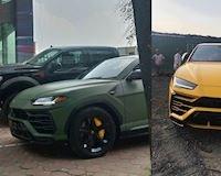 Siêu xe Lamborghini Urus đổi màu lạ: lại về tay Đặng Lê Nguyên Vũ?