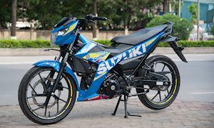 Cách khắc phục tiếng kêu trên Suzuki Raider khi chạy qua gờ giảm tốc