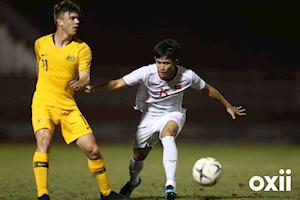 Trực tiếp VTC1 bóng đá U18 Việt Nam vs U18 Singapore