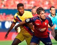 Thần đồng 16 tuổi tỏa sáng, Barca vẫn hòa 'muối mặt' trước Osasuna