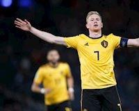 KỶ LỤC: De Bruyne lập hat-trick kiến tạo chỉ trong 23 phút
