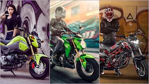 Nên mua Benelli TNT 125, Honda MSX 125 hay Kawasaki Z125