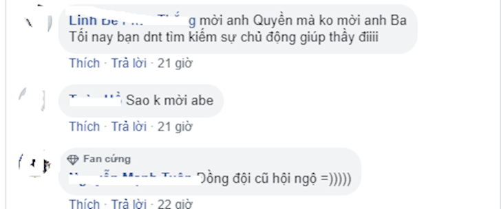 Fan phan no khi thay Ba khong duoc ngoi ban phan tich VCS