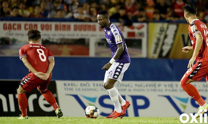 Hoàng Vũ Samson đang dẫn đầu danh sách Vua phá lưới với 6 bàn thắng sau 8 vòng đấu.