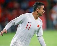 Video clip: Tiền đạo nhập tịch Elkeson lập cú đúp ngày ra mắt tuyển Trung Quốc
