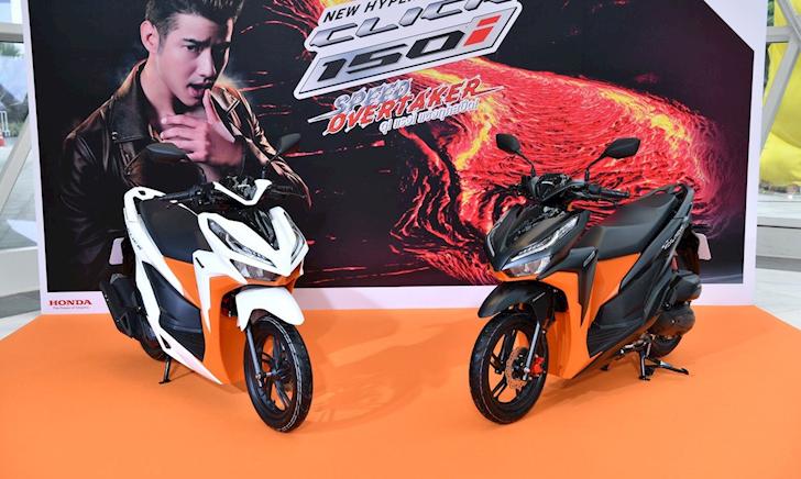Honda Click 2019 nhập khẩu Thái Lan có phiên bản mới
