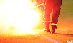 Pháo sáng sân Hàng Đẫy: Vì những quả penalty?