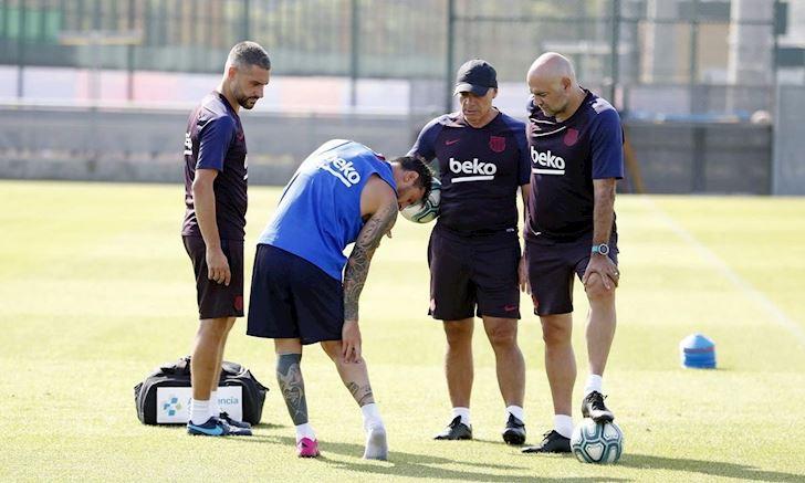 Barca cho Messi tam nghi thi dau o La Liga lan Champions League anh 2