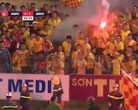 Video clip: VFF lên tiếng về sự cố pháo sáng gây hậu quả nghiêm trọng tại sân Hàng Đẫy
