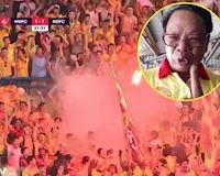 Video clip: 'Nhạc trưởng' hội CĐV Nam Định lên án hành động phá hoại trên khán đài sân Hàng Đẫy