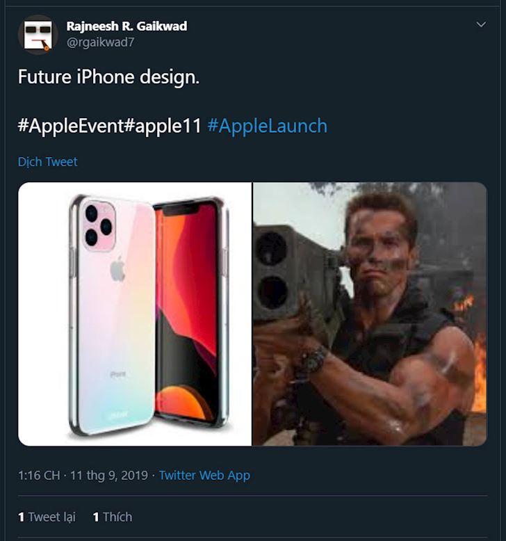 """Ảnh chế iPhone 11 """"mọc"""" đầy trời, đầy sáng tạo và hài hước 5"""