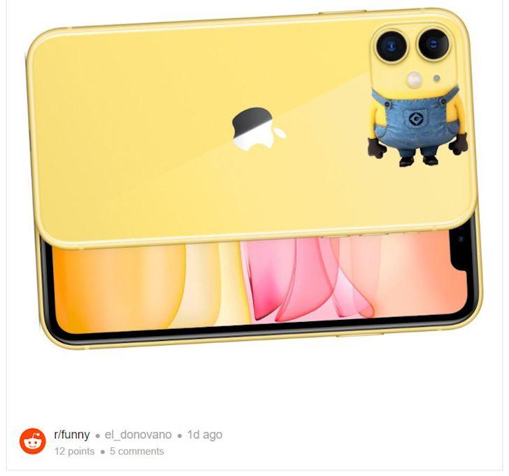 """Ảnh chế iPhone 11 """"mọc"""" đầy trời, đầy sáng tạo và hài hước 7"""