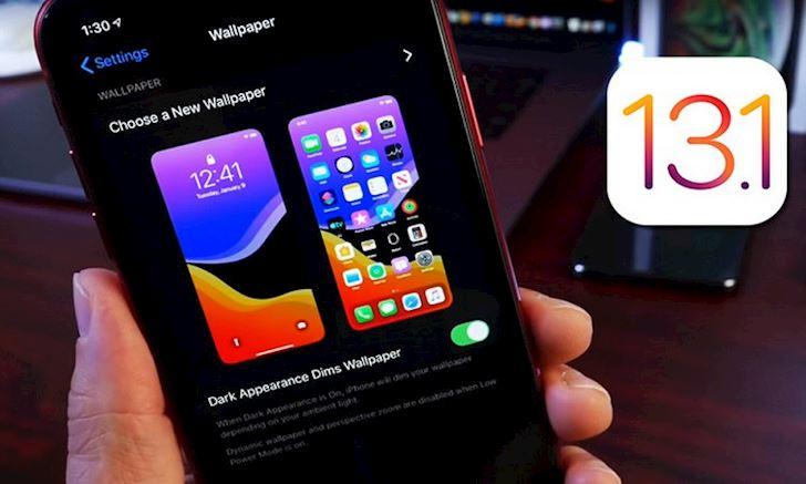 iOS 13 1 Beta 3 da duoc Apple tung ra rong rai moi ban tai ve 2