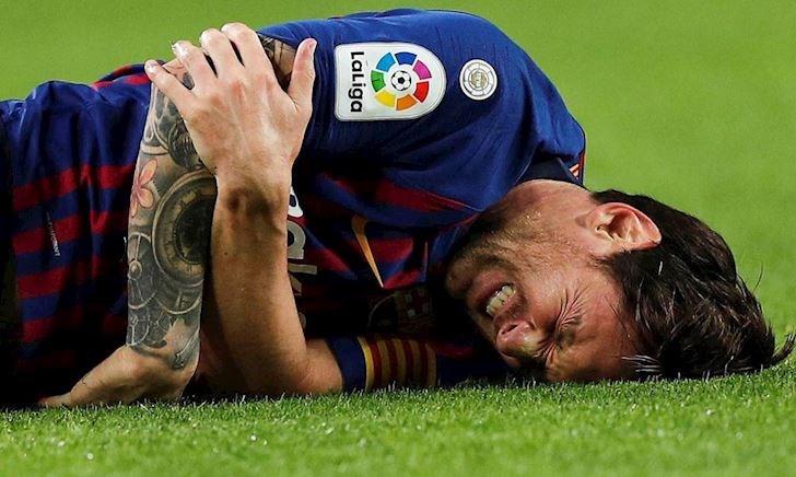 Chấn thương bí hiểm đe dọa sự nghiệp Messi
