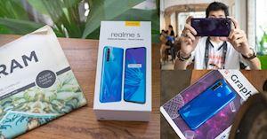 Trên tay Realme 5 Pro tại Việt Nam: Snapdragon 712, 4 camera chính, giá hứa hẹn