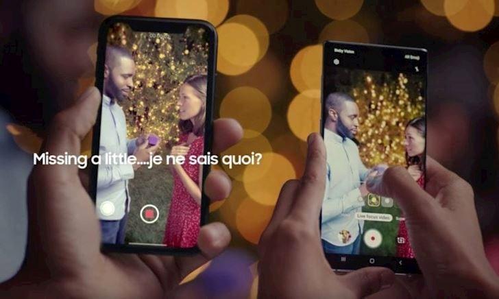 """Samsung tung video quảng cáo """"cà khịa"""" iPhone sau khi iPhone 11 ra mắt"""