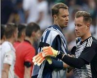 Dùng họp báo C1, Ter Stegen bày tỏ bức xúc lần 2 với Neuer