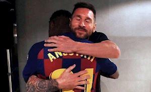 Dự đoán hàng công Barca đấu Dortmund: Messi sẽ vào sân thay Fati
