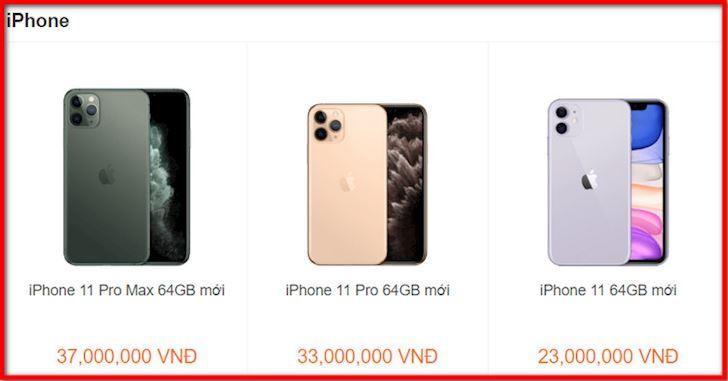 iPhone 11 Pro Max gia bao nhieu tien khi ve Viet Nam 3