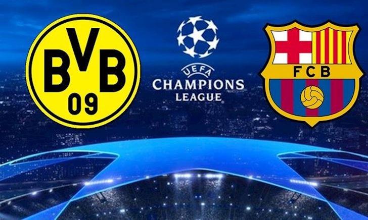 Tructiepbongda. Link xem trực tiếp Dortmund vs Barca 2h ngày 18/9