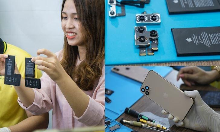 Tháo tung iPhone 11 Pro Max đầu tiên trên thế giới tại Việt Nam