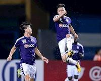 Hà Nội FC ẵm trọn danh hiệu tháng 8