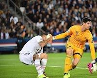 Courtois trải qua ngày tháng kinh hoàng ở Real Madrid