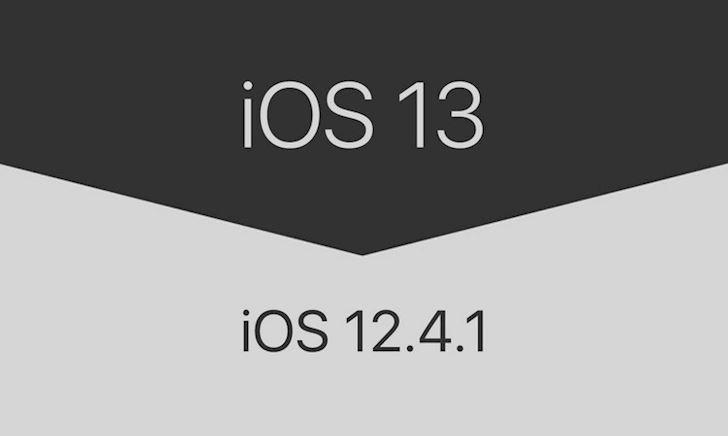 2 Cách hạ cấp iOS 13 về phiên bản iOS 12.4.1