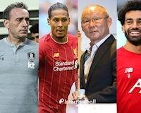 HLV Park Hang-seo chấm Salah hay nhất thế giới, lơ Ronaldo