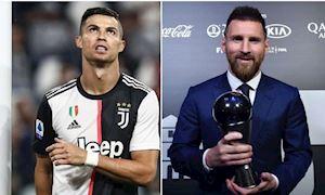 Bồ Đào Nha động viên tinh thần Ronaldo sau khi Messi giành The Best