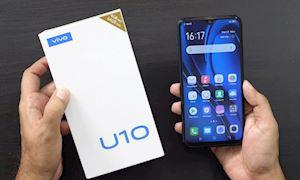 Vivo U10 ra mắt: Pin lớn, 3 camera, sạc nhanh, giá rẻ