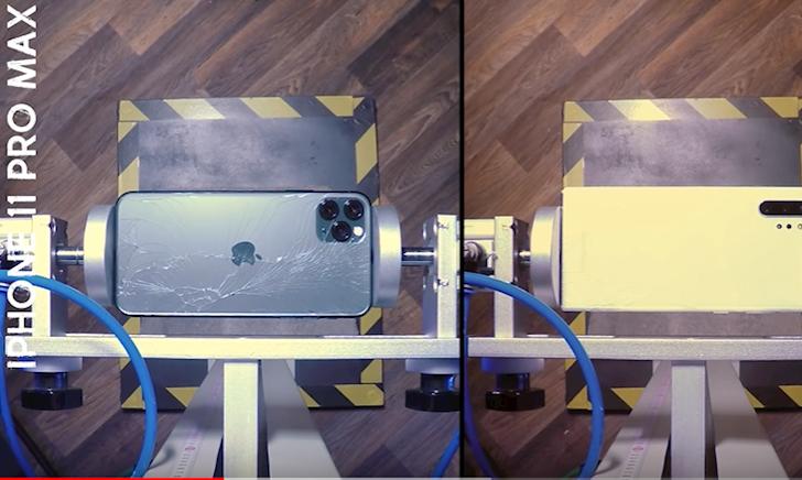 Cùng nhau đập Galaxy Note 10+ và iPhone 11 Pro Max xem cái nào bền hơn