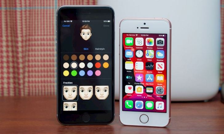 Thac mac Dang dung iPhone 6S Plus co nen len iOS 13 3