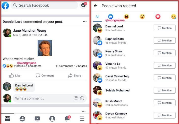 Facebook an so luong Like cua bai dang the ban co thich dieu nay 1