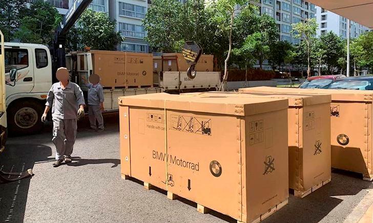 Sport bike BMW S1000RR 2019 đã bí mật về Việt Nam