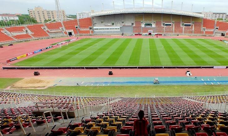 Choáng ngợp trước sân Thái Lan đấu Việt Nam