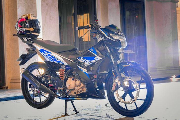 Do choi Suzuki Satria F150 va Raider 150 nen len nhat 2