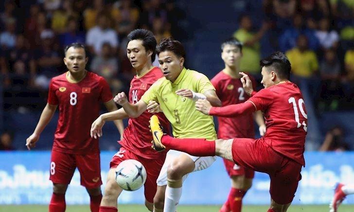 90 phút trực tiếp bóng đá Thái Lan vs Việt Nam 19h ngày 5/9