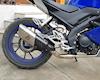 Yamaha YZF-R15 độ pô Akrapovic cho âm thanh uy lực