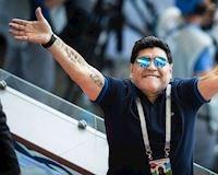 Maradona trở lại sân cỏ, dẫn dắt đội hạng bét Argentina
