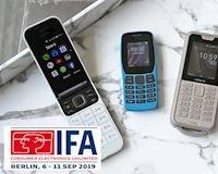 IFA 2019: HMD ra mắt 3 điện thoại tính năng Nokia 110, Nokia 800 Tough, Nokia 2720