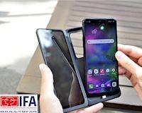 IFA 2019: LG G8X ThinQ 'màn hình gập' trình làng, xoay được 360 độ