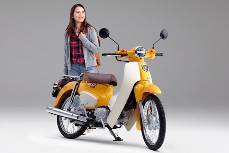 Honda Cub 50cc chinh hang gia cuc cao khi ve Viet Nam 2
