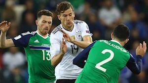 Nhận định Bắc Ireland vs Đức: Xe tăng lại tuột xích