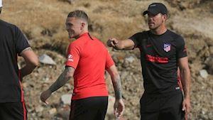 Sao tuyển Anh khen ngợi Diego Simeone như 'ở hành tinh khác'