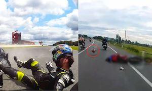 Va chạm 130 km/h, đội fullface sai cách và sự an toàn - Đồ bảo hộ #7