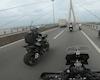 Thấy đoàn xe mô tô PKL chạy qua, cách xử sự văn minh và an toàn