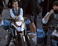 Tom Cruise bị phát hiện trên mô tô BMW GS khi đang quay phim Nhiệm vụ bất khả thi 7