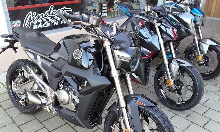 3 mẫu mô tô 125cc lạ từ Zontes có giá gần 100 triệu đồng