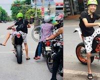 4 cách mà biker thấp bé thường dùng để chạy mô tô